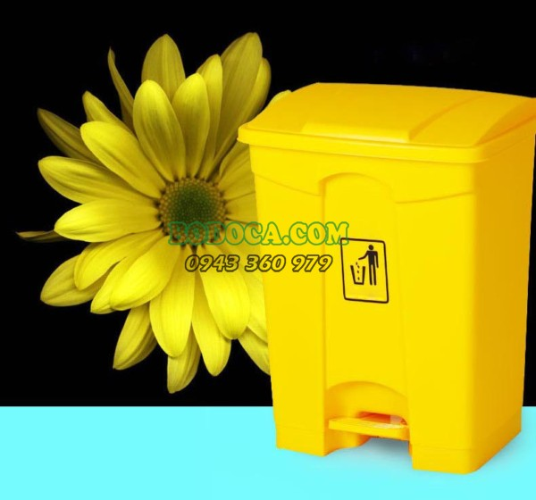 Phân phối thùng rác nhựa đạp chân 45L